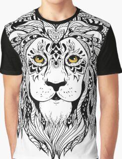 Lion Head Graphic T-Shirt