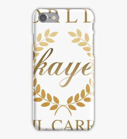World's Okayest Mail Carrier iPhone Case/Skin