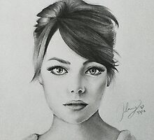 Emma Stone by jennydang