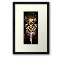 Satanic Anatomy Framed Print