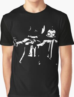 Ratchet and Clank Pulp Fiction Graphic T-Shirt