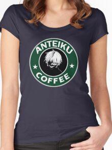 Tokyo Ghoul Anteiku Starbucks Women's Fitted Scoop T-Shirt