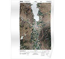 USGS Topo Map Washington State WA Oroville 20110429 TM Poster