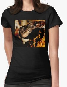 Terrible Lizard Womens Fitted T-Shirt
