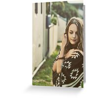 Conjouring Emotion 1.02 Greeting Card