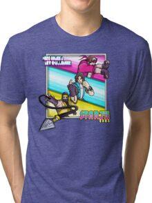 Starbomb Ninja Brian Egoraptor Danny Sexbang Tri-blend T-Shirt