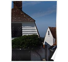 Weatherboard Cottages Poster