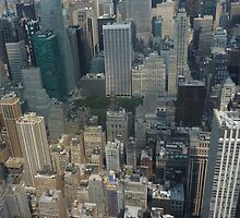 View of New York by Zoe Roupakia