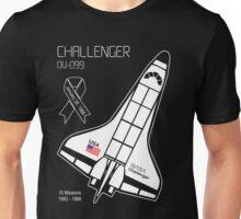 Space Shuttle Challenger Unisex T-Shirt