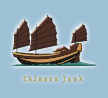 Chinese Junk T-shirt design by Dennis Melling