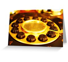 Telephone Greeting Card