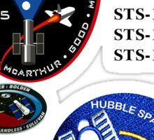 STS-125: The HST-SM4 Mision Logo Sticker