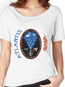 Atlantis STS-125 Mission Patch Women's Relaxed Fit T-Shirt
