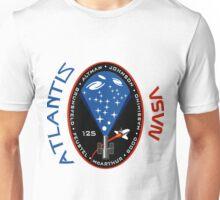 Atlantis STS-125 Mission Patch Unisex T-Shirt