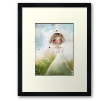 Bird and Bride Framed Print