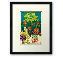 Night of the Living Carrot! Framed Print