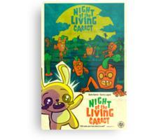 Night of the Living Carrot! Metal Print