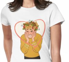 Captain James T. Kirk Valentine Womens Fitted T-Shirt