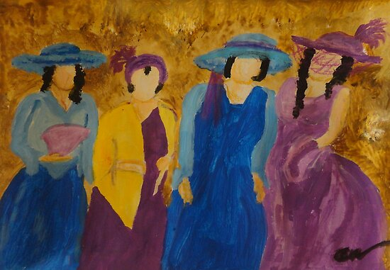 Four Sisters by Alison Pearce