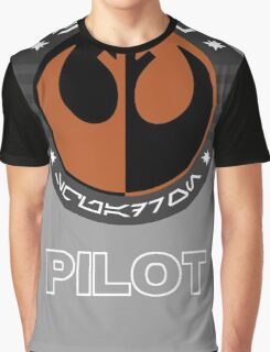 Star Wars Episode VII - Black Squadron (Resistance) - Star Wars Veteran Series Graphic T-Shirt