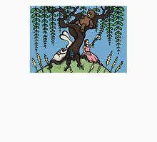 Teddy Bear And Bunny - Lazy Summer Day Unisex T-Shirt