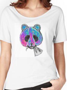 Trippy Panda Women's Relaxed Fit T-Shirt