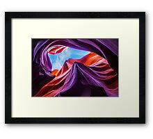 Magical (Lower) Antelope Canyon II Framed Print