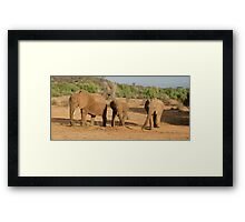 """""""sweepers"""" Framed Print"""