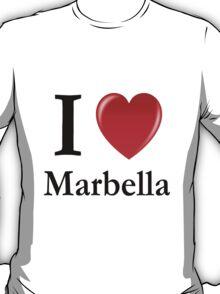 I love Marbella - I heart Marbella T-Shirt