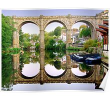 Knaresborough Reflections Poster