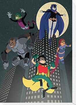 Teen Titans by Fuacka