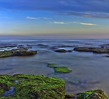 low tide at the reef by ketut suwitra