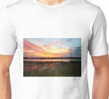 Sunset And Reflections Unisex T-Shirt