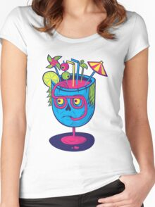 Pineal Colada Women's Fitted Scoop T-Shirt