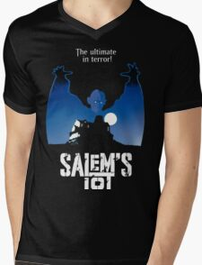 Salems Lot - Movie Poster Mens V-Neck T-Shirt