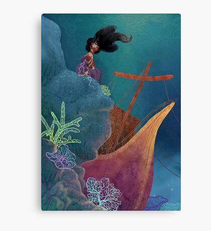 Umbrian Ocean Canvas Print