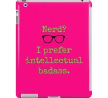 Intellectual Badass  iPad Case/Skin