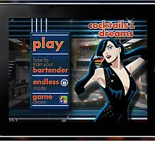 Cocktail iPhone Game Application by lfreddecolo