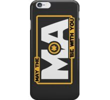 May The Mass Times Acceleration Be With You iPhone Case/Skin