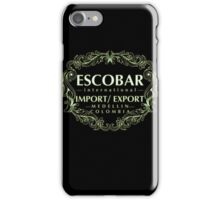 Escobar Import and Export White Sand Glow iPhone Case/Skin