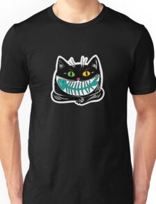 cat and fish Unisex T-Shirt