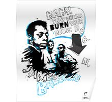 Go Tell it On The Mountain. James Baldwin Poster