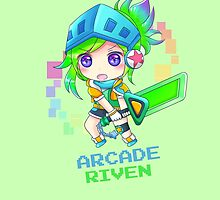 Arcade Riven League of Legends by LexyLady