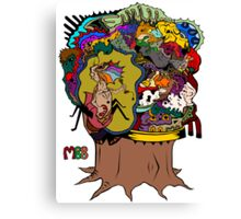 Undercovered, undiscovered Canvas Print