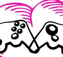 2 Player  Sticker
