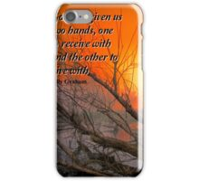 Hands to Give iPhone Case/Skin