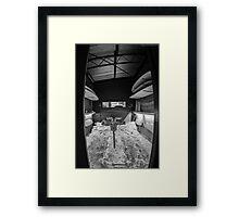 Surfboard Shaping Bay Framed Print