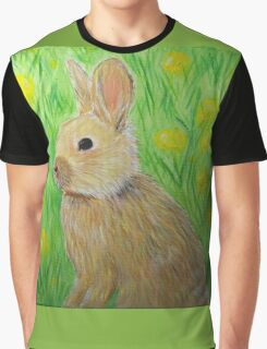 Bunny in Buttercups Graphic T-Shirt