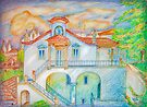 iPad case.  iPhone. House III. Sintra by terezadelpilar~ art & architecture