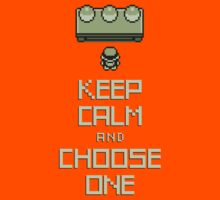 Keep Calm and Choose One Kids Clothes